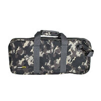 CHEFTECH KNIFE CHEF ROLL BAG FITS 18 PIECES W/ HANDLES CAMO 9.7013