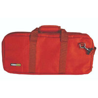 CHEFTECH KNIFE CHEF ROLL BAG FITS 18 PIECES W/ HANDLES RED 9.7012