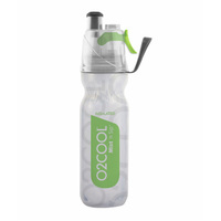 NEW 02 COOL MIST 'N' SIP ARCTIC SQUEEZE 18oz 530ml DRINK BOTTLE GREEN 02COOL O2COOL