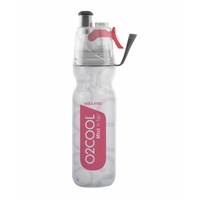 NEW 02 COOL MIST 'N' SIP ARCTIC SQUEEZE 18oz 530ml DRINK BOTTLE PINK 02COOL O2COOL