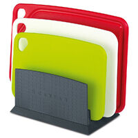 Scanpan Polypropylene Spectrum 4 Pce Cutting Board Set With Stand SAVE!