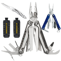 2018 Leatherman CHARGE TTI PLUS + MultiTool & BitKit & C33 Crater & Squirt BLU