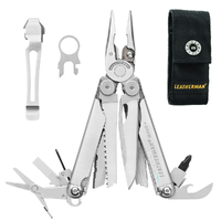 LEATHERMAN Wave Multi Tool & Nylon Sheath & Pocket Clip & Lanyard Ring * AUTHAUSDEALER*