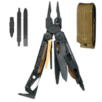 Leatherman Black MUT Stainless Steel Multi Tool & Sheath & Bit Kit *AUTH AUS DEALER*