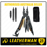NEW Leatherman Black MUT EOD Stainless MultiTool & Sheath & Bit Kit *AUTHAUSDEALER