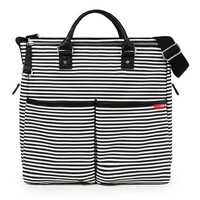 New SKIP HOP DUO Special Edition Diaper Nappy Baby Bag W/ Changing Mat STRIPE SH200350