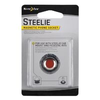 New NITE IZE STEELIE Magnetic Phone Socket and Cleaning Pad SMALL STSM11R7 Save!