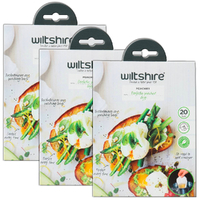 New WILTSHIRE POACHIES Non Sitck Egg Poacher 60 Bags 43550