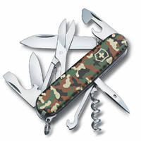 SWISS ARMY KNIFE CLIMBER CAMO CAMOUFLAGE VICTORINOX 35641 FREE POST