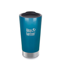 KLEAN KANTEEN 16oz 473ml Vacuum Insulated TUMBLER WINTER LAKE BPA FREE