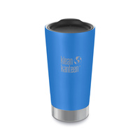 KLEAN KANTEEN 16oz 473ml Vacuum Insulated TUMBLER PACIFIC SKY BLUE BPA FREE