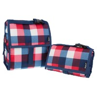 NEW PACKIT PERSONAL COOLER LUNCH BAG FREEZE & GO - BUFFALO CHECK PACK IT USA