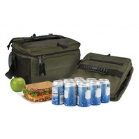NEW PACKIT COOLER FREEZE & GO FREEZABLE 18 CAN COOLER BAG - OLIVE PACK IT USA