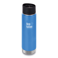 KLEAN KANTEEN 592ml 20oz INSULATED WIDE PACIFIC SKY BLUE Water Coffee Soup Bottle