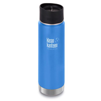 KLEAN KANTEEN 592ml 20oz INSULATED WIDE NEPTUNE BLUE Water Coffee Soup Bottle