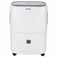 New DIMPLEX 50L Portable Dehumidifier with Electronic Controls Display GDDE50E