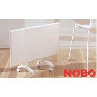New NOBO OSLO 1kW NTE4S10 Electric Panel Heater Thermostat Timer Slim Wall Mount