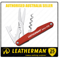 LEATHERMAN JUICE CS3 CINNABAR ORANGE Multi Tool 832369 AUTHAUSDEALER