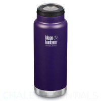 KLEAN KANTEEN TKWIDE INSULATED 32oz 946ml KALAMATA PURPLE BPA FREE Water Bottle