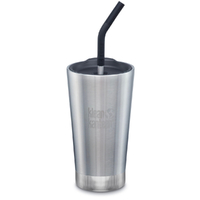 KLEAN KANTEEN TUMBLER INSULATED 16oz 473ml SHALE BLACK W/ Straw Lid