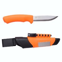 MORAKNIV Bushcraft Survival Orange Outdoor Knife & Sheath 12051 Sweden