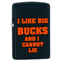 ZIPPO BLACK MATT BIG BUCKS LIGHTER GIFT BOX 97132