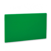 CUTTING CHOPPING BOARD POLYETHYLENE GREEN FRUIT & VEGETABLES 450 X 600 X 13
