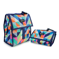 NEW PACKIT PERSONAL COOLER LUNCH BAG FREEZE AND GO - PARADISE BREEZE PACK IT USA