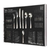 STANLEY ROGERS CHICAGO 56 Piece Stainless Steel 56pc Cutlery Set 50569