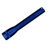 "MAGLITE 2AA FLASHLIGHT BLUE MADE IN USA ""FREE POSTAGE"""