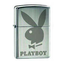 Zippo PLAYBOY BUNNY VERTICAL 24308 Genuine Street Cigar Cigarette Lighter
