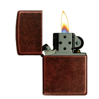 Zippo ANTIQUE COPPER 92251 Genuine Street Cigar Cigarette Lighter