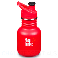 NEW KLEAN KANTEEN KID 355ml 12oz SPORTS LADDER TRUCK RED BPA FREE Water Bottle SAVE !