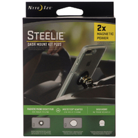 Nite Ize Steelie DASH Mount Kit PLUS Magnetic Phone Mount System 2 X Magnetic Power