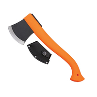 New MORAKNIV Outdoor Orange AXE W/ Leather Blade Sheath 12642