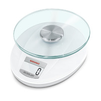 NEW SOEHNLE ROMA WHITE DIGITAL KITCHEN SCALE 5 KG CAPACITY 65847