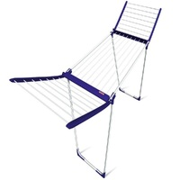 NEW LEIFHEIT PEGASUS COMPACT AIRER 160 BLUE LAUNDRY DRYER RACK L81704
