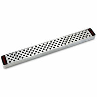 NEW GLOBAL 41cm Stainless Steel Magnetic Knife Rack Knives Kitchen 79573