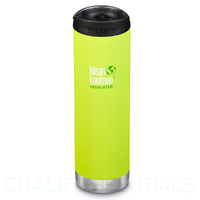 KLEAN KANTEEN TKWIDE INSULATED 20oz 592ml LIME JUICY PEAR W/ Cafe Cap