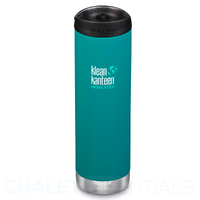 KLEAN KANTEEN TKWIDE INSULATED 20oz 592ml EMERALD BAY W/ Cafe Cap