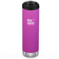 KLEAN KANTEEN TKWIDE INSULATED 20oz 592ml BERRY BRIGHT W/ Cafe Cap