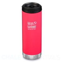 KLEAN KANTEEN TKWIDE INSULATED 16oz 473ml MELON PUNCH W/ Cafe Cap
