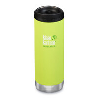 KLEAN KANTEEN TKWIDE INSULATED 16oz 473ml LIME JUICY PEAR W/ Cafe Cap