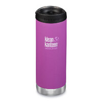 KLEAN KANTEEN TKWIDE INSULATED 16oz 473ml BERRY BRIGHT W/ Cafe Cap