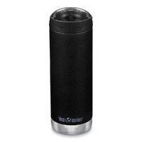 KLEAN KANTEEN TKWIDE INSULATED 16oz 473ml SHALE BLACK W/ Cafe Cap