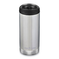 KLEAN KANTEEN TKWIDE INSULATED 12oz 355ml STAINLESS W/ Cafe Cap
