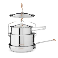 New PRIMUS WP738001 Stainless steel Large Campfire Cookset
