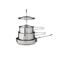 New PRIMUS WP738002 Stainless steel Small Campfire Cookset