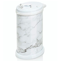 New Nappy Diaper Bin UBBI Pail MARBLE COLOUR Ltd Edition Eco Friendly