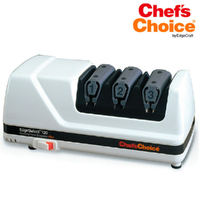 New Chef's Choice Pro Electric Diamond Hone Knife Sharpener WHITE 120 Hone EdgeSelect